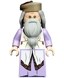 Albus Dumbledore, Lavender Robe, Dark Tan Hat (hp190)