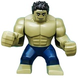 Hulk with Black Hair and Dark Blue Pants (sh577)